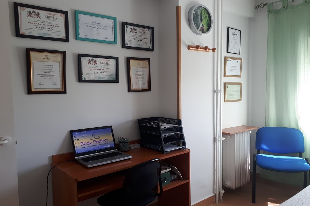 Centro osteopatia madrid